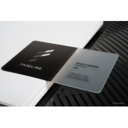 Frosted Clear PVC Card