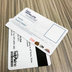 Mag-stripe PVC Card