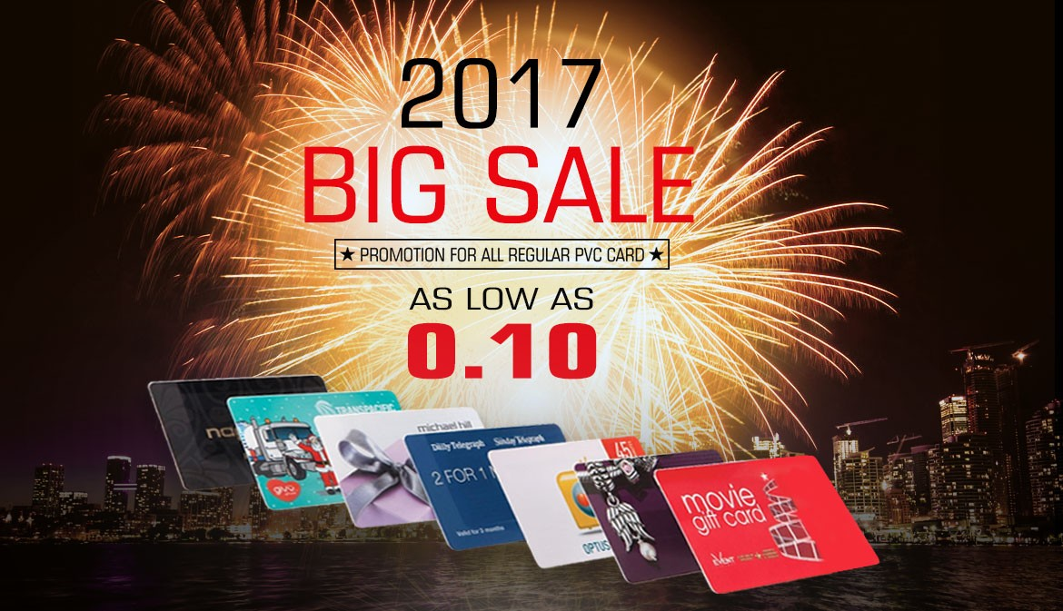 BIG SALE PVC Card